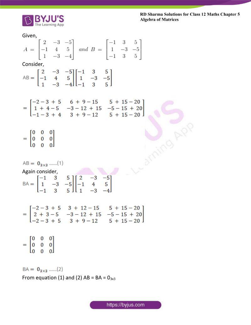 rd sharma class 12 maths chp 5 ex 3 14