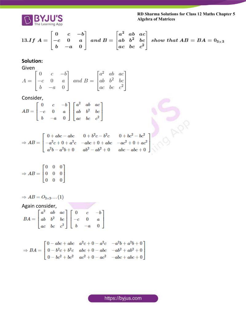 rd sharma class 12 maths chp 5 ex 3 15