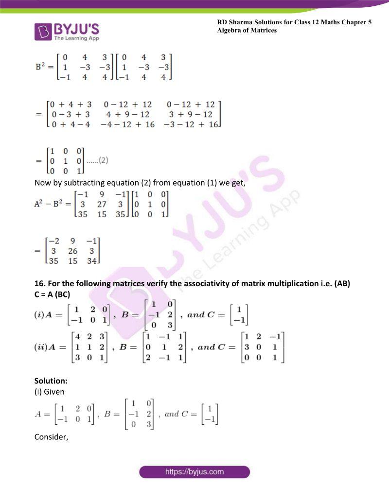 rd sharma class 12 maths chp 5 ex 3 18