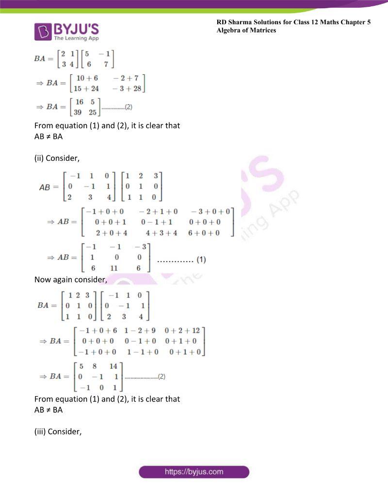 rd sharma class 12 maths chp 5 ex 3 2
