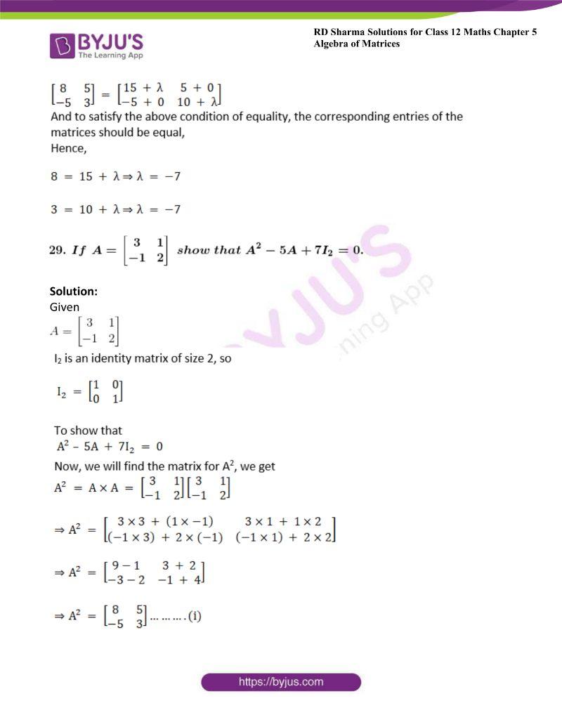rd sharma class 12 maths chp 5 ex 3 34