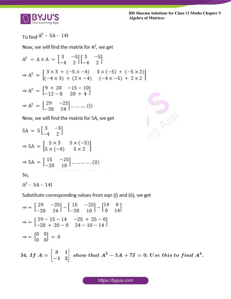 rd sharma class 12 maths chp 5 ex 3 40