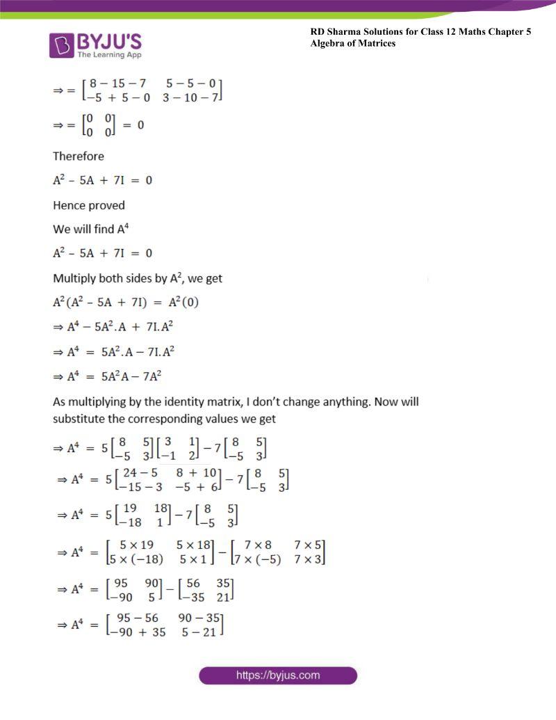 rd sharma class 12 maths chp 5 ex 3 42