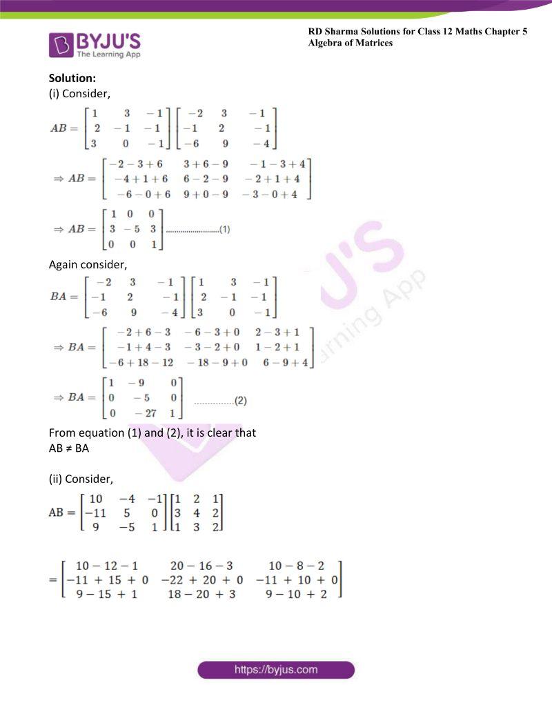 rd sharma class 12 maths chp 5 ex 3 6