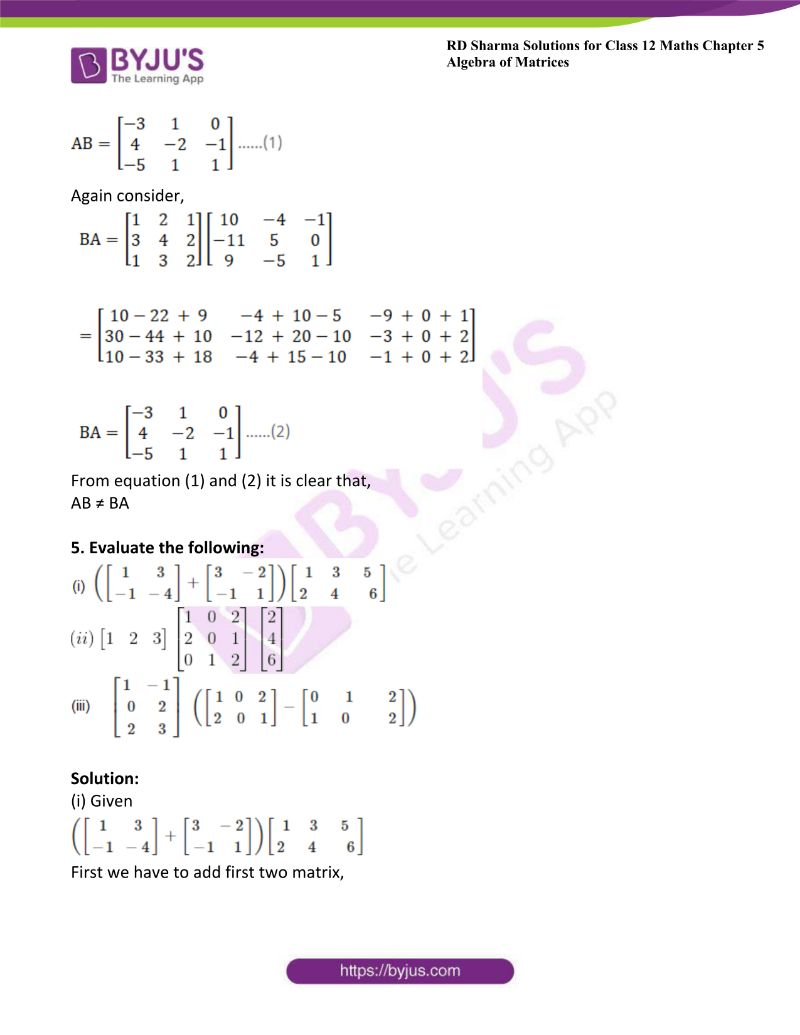 rd sharma class 12 maths chp 5 ex 3 7