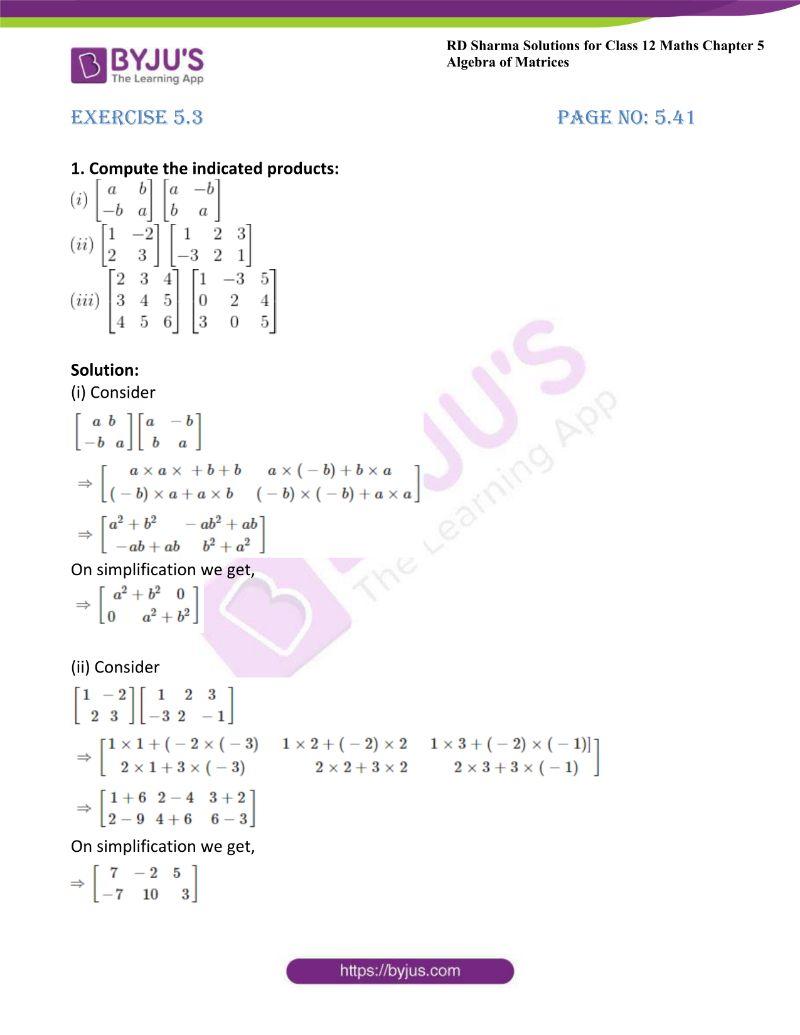 rd sharma class 12 maths chp 5 ex 3