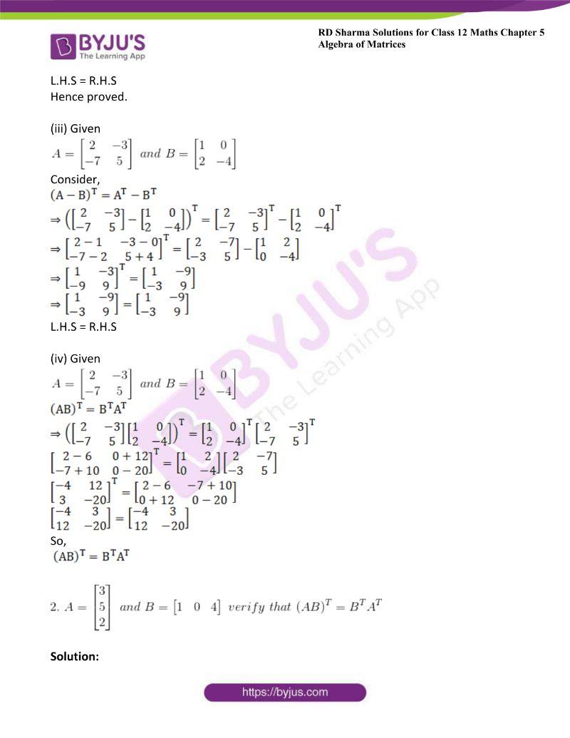 rd sharma class 12 maths chp 5 ex 4 1