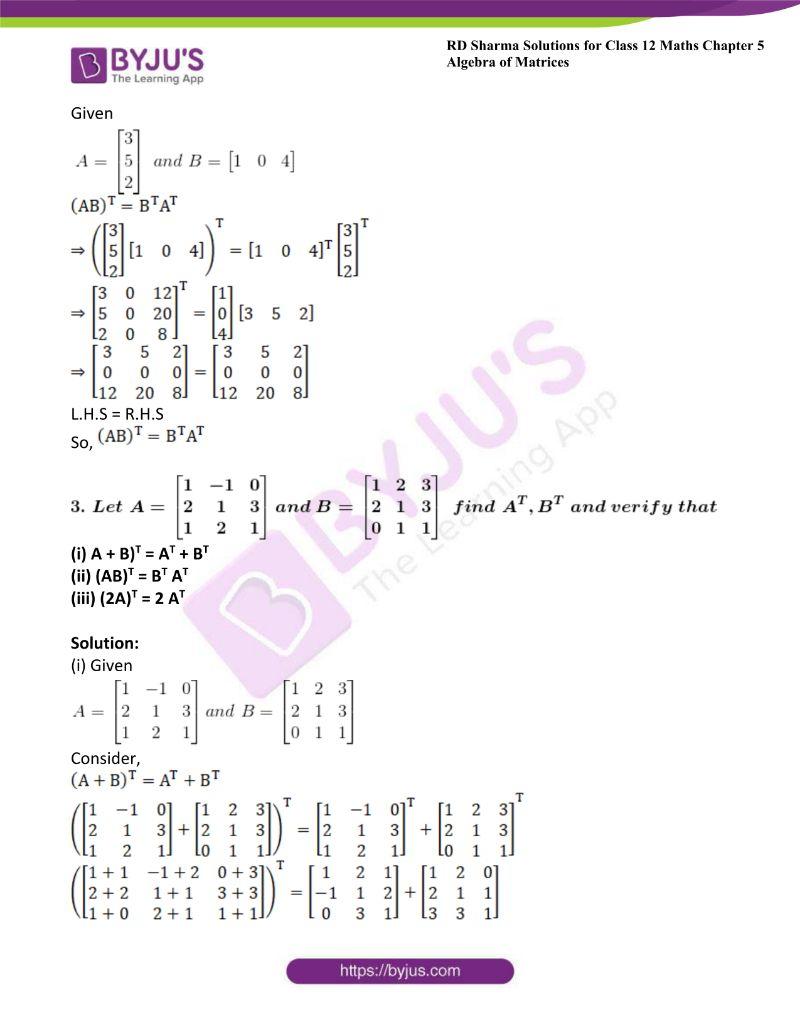 rd sharma class 12 maths chp 5 ex 4 2
