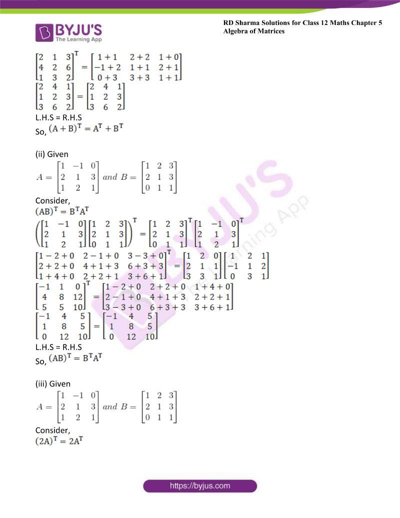 rd sharma class 12 maths chp 5 ex 4 3