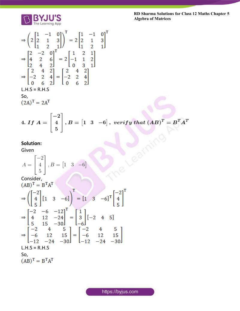 rd sharma class 12 maths chp 5 ex 4 4