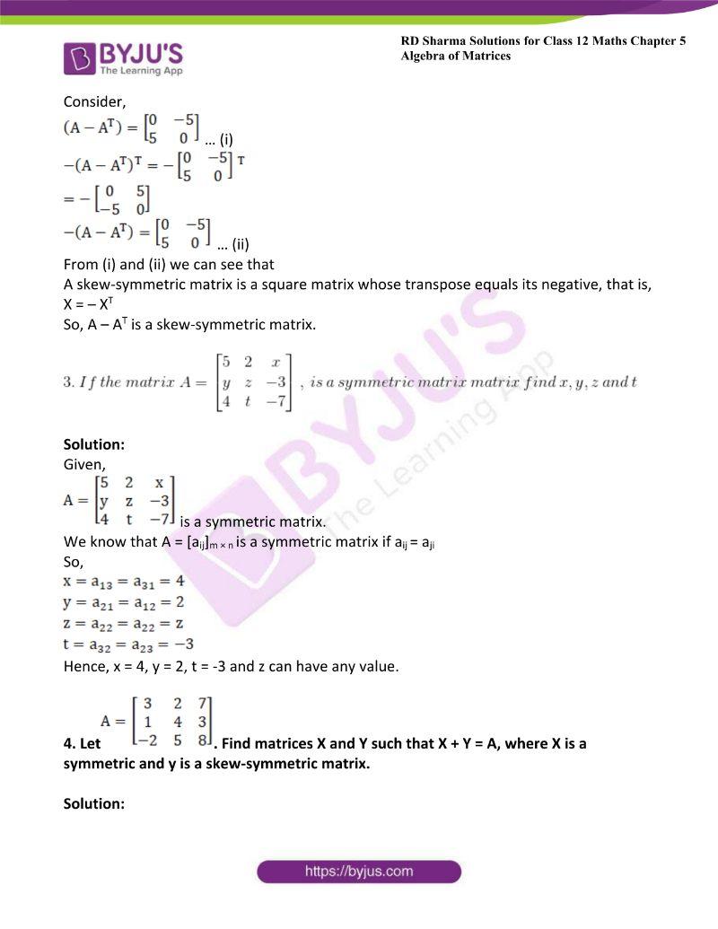 rd sharma class 12 maths chp 5 ex 5 1
