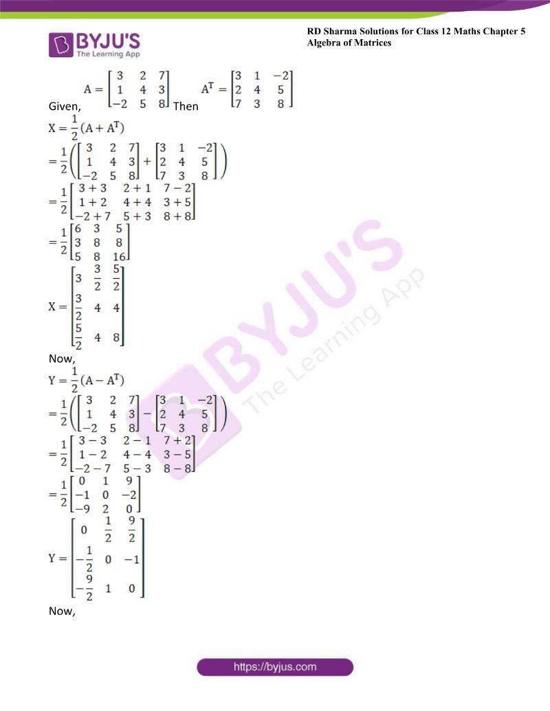 rd sharma class 12 maths chp 5 ex 5 2