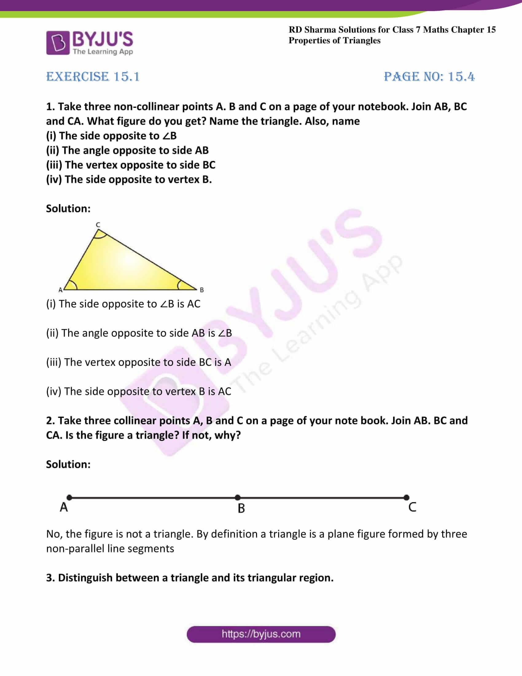 rd sharma class 7 maths solution ch 15 ex 1