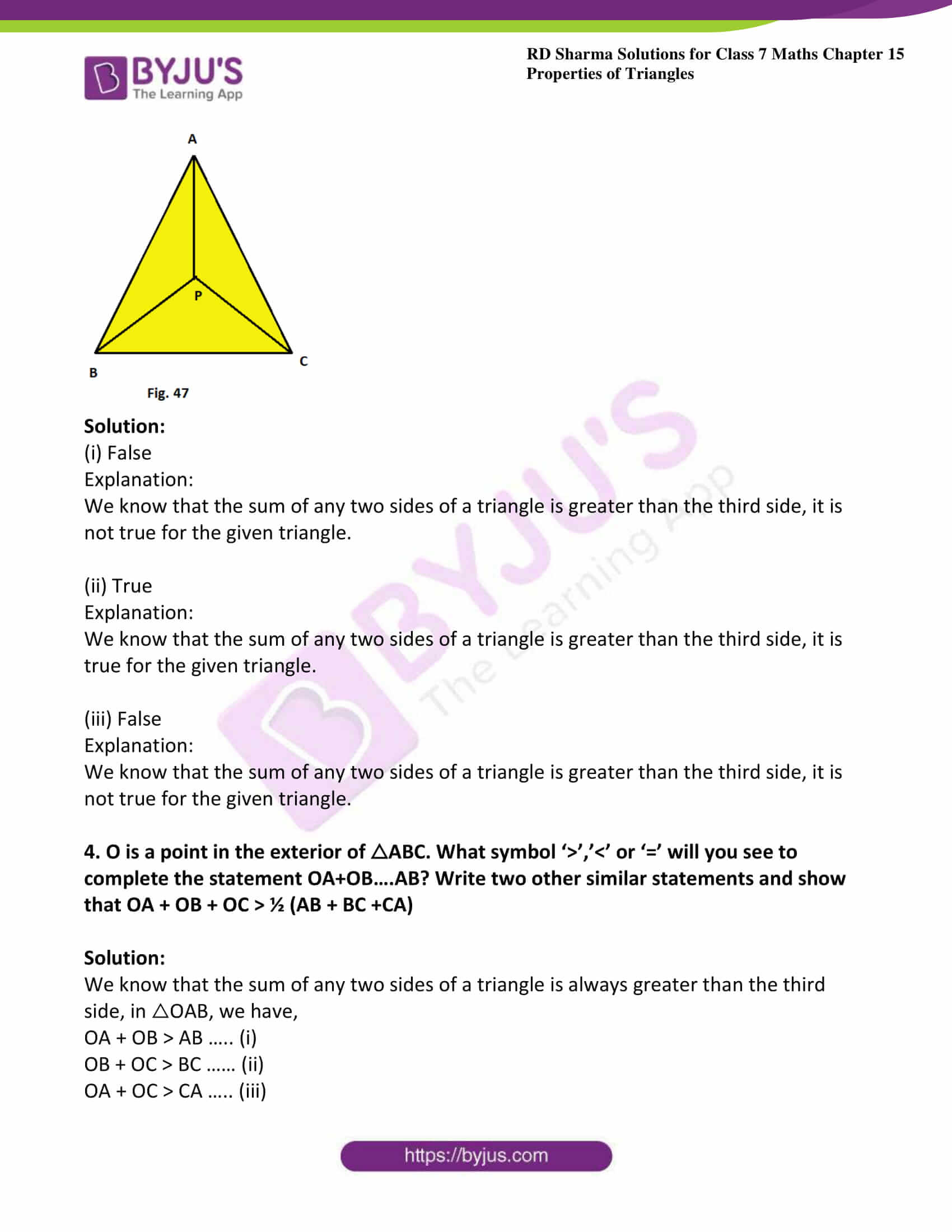 rd sharma class 7 maths solution ch 15 ex 4