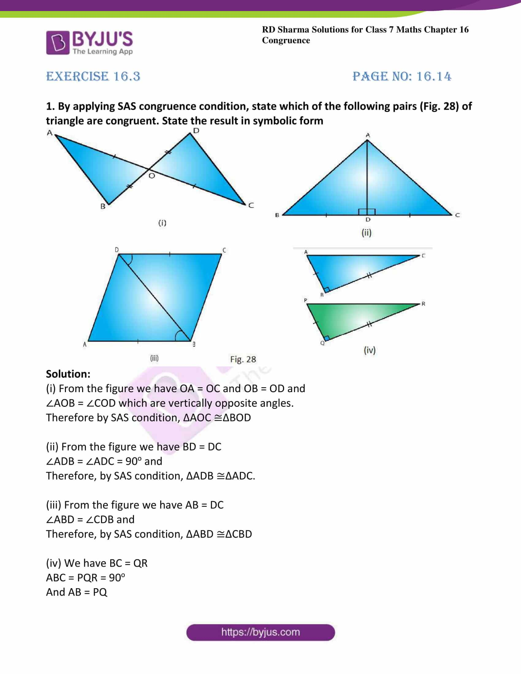 rd sharma class 7 maths solution ch 16 ex 3