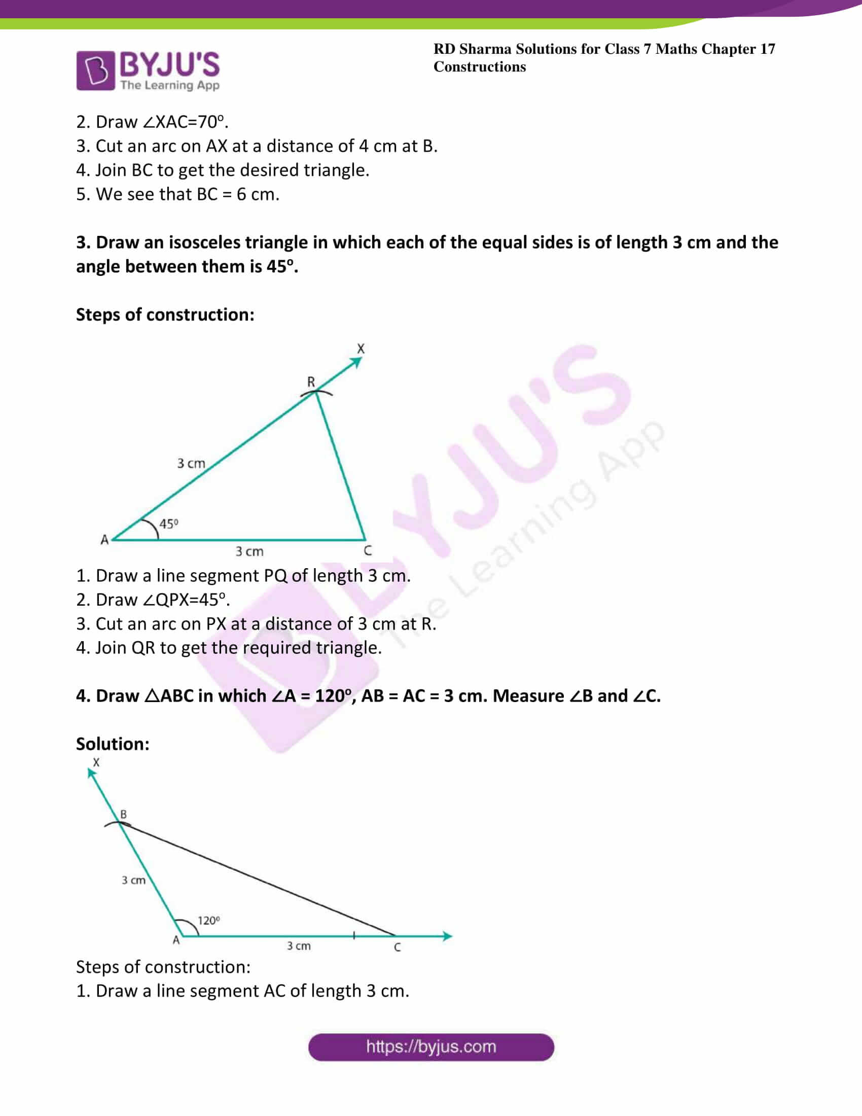 rd sharma class 7 maths solution ch 17 ex 3