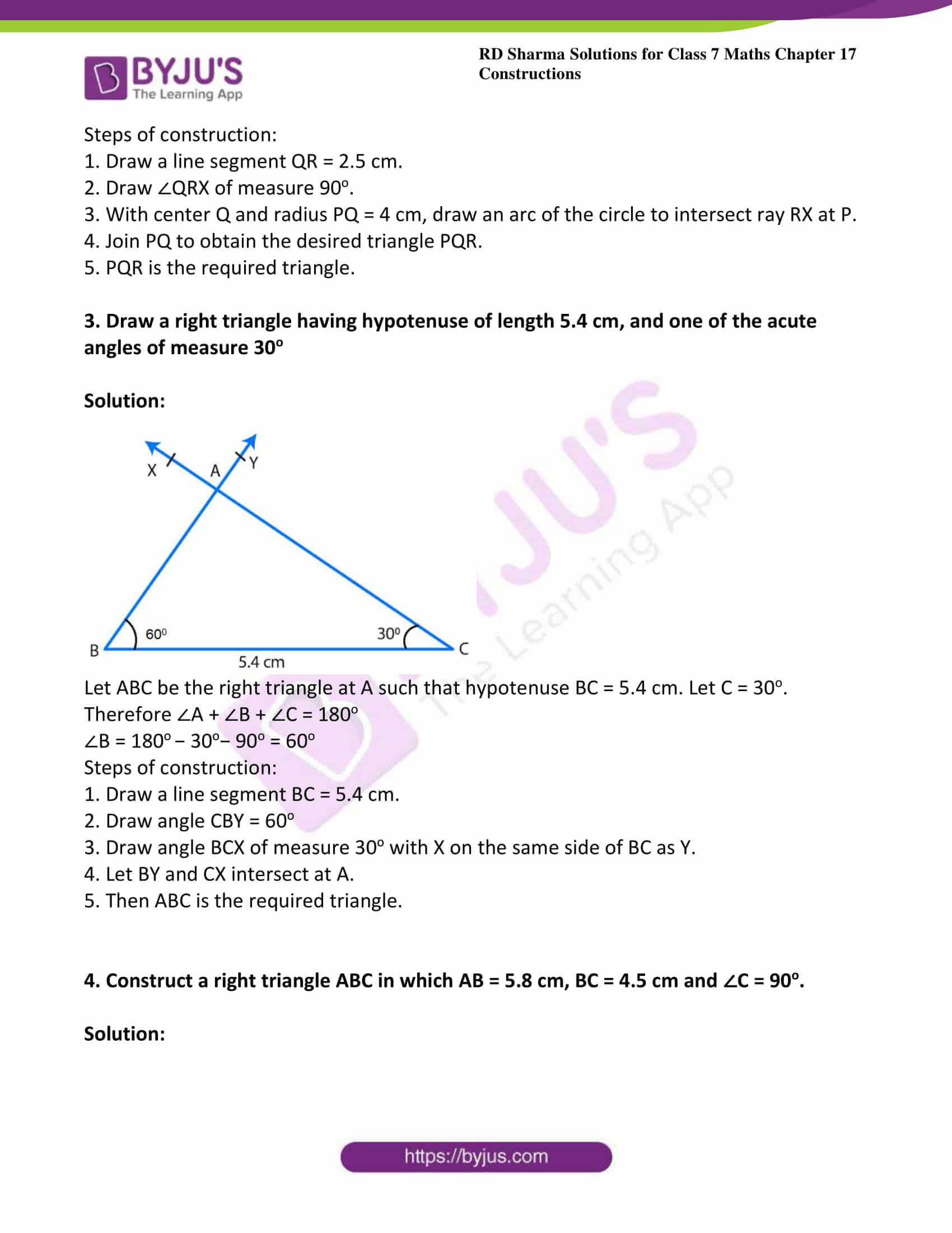 rd sharma class 7 maths solution ch 17 ex 5
