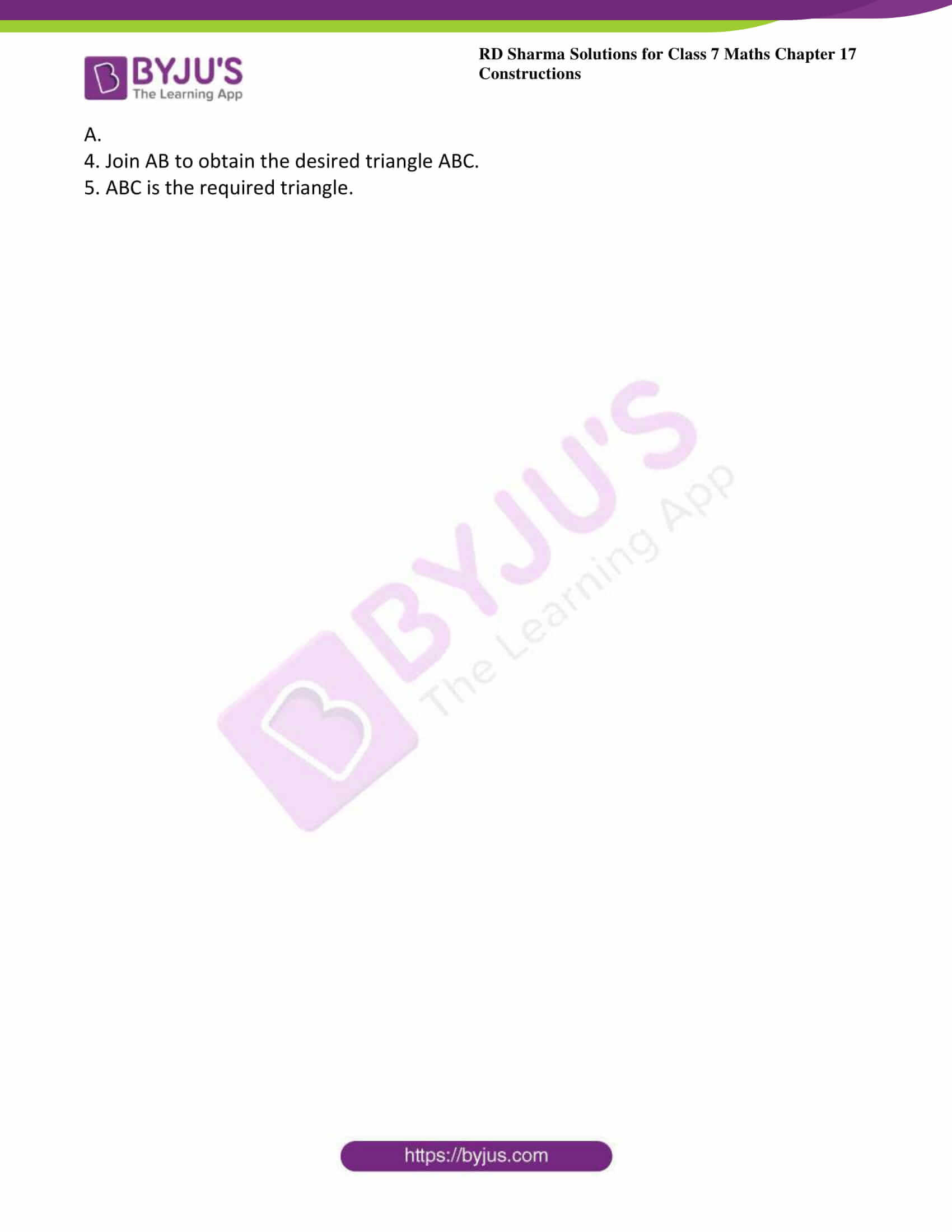 rd sharma class 7 maths solution ch 17 ex 5