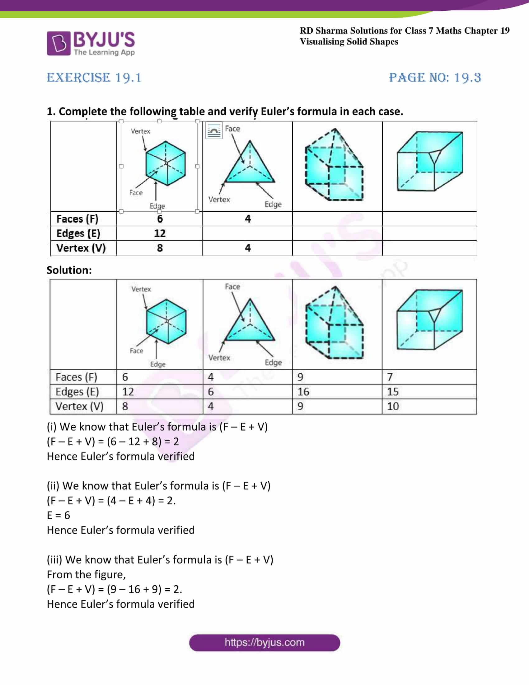 rd sharma class 7 maths solution ch 19 ex 1