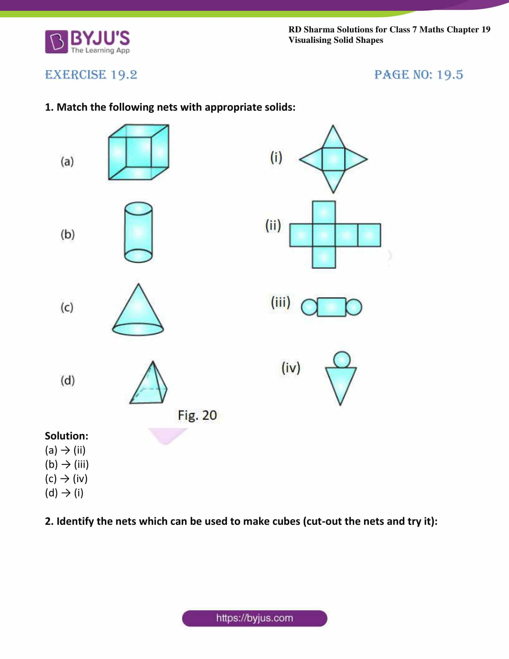 rd sharma class 7 maths solution ch 19 ex 2