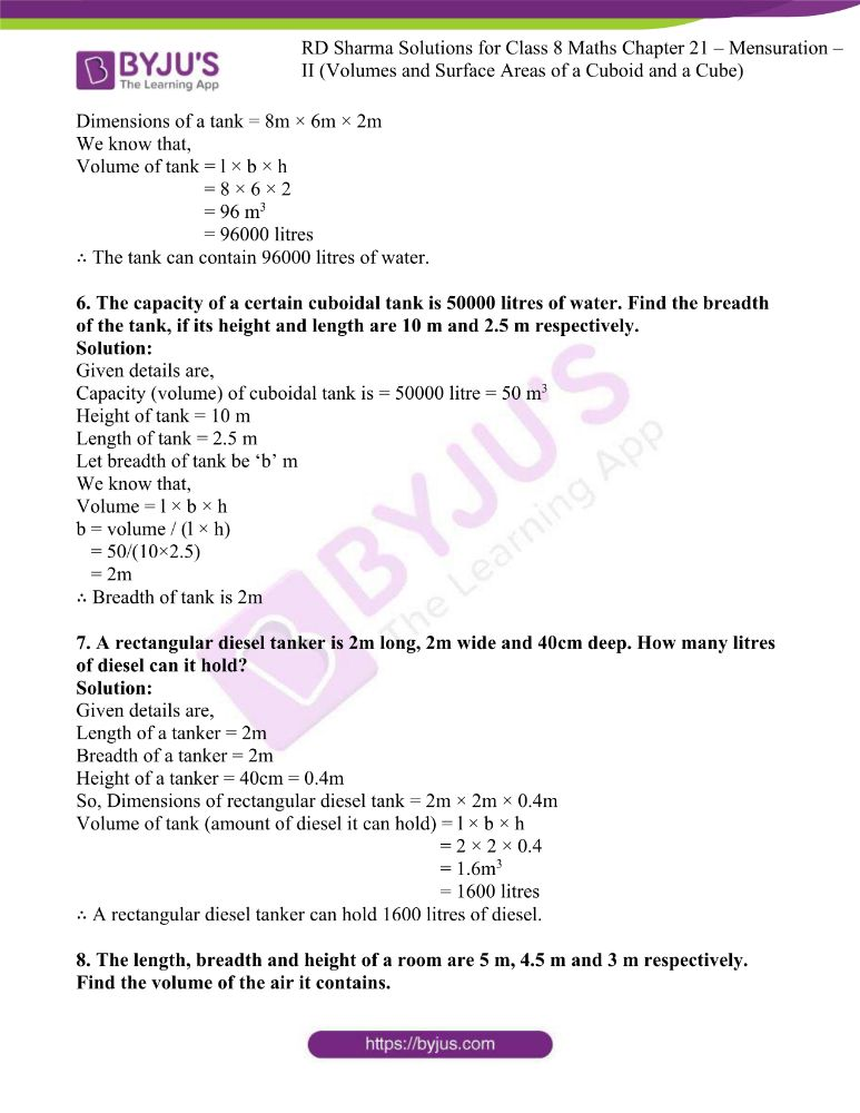 rd sharma class 8 maths chapter 21 ex 2