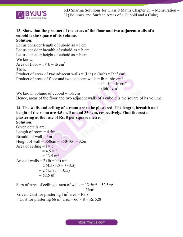 rd sharma class 8 maths chapter 21 ex 3