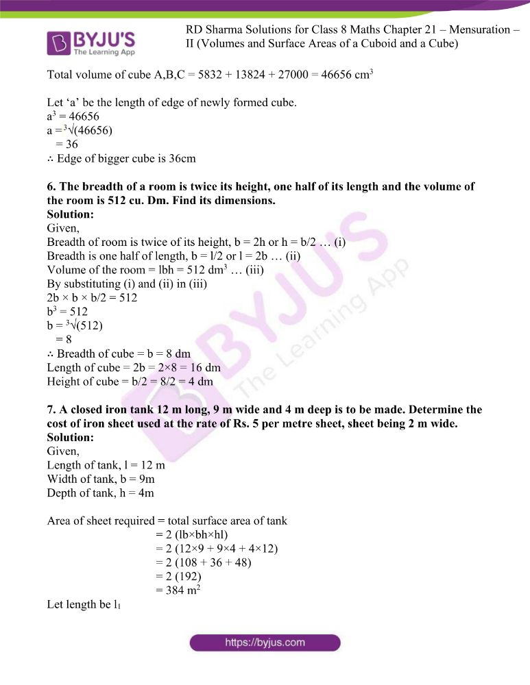 rd sharma class 8 maths chapter 21 ex 4