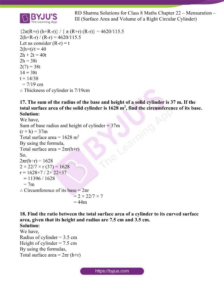 rd sharma class 8 maths chapter 22 ex 1