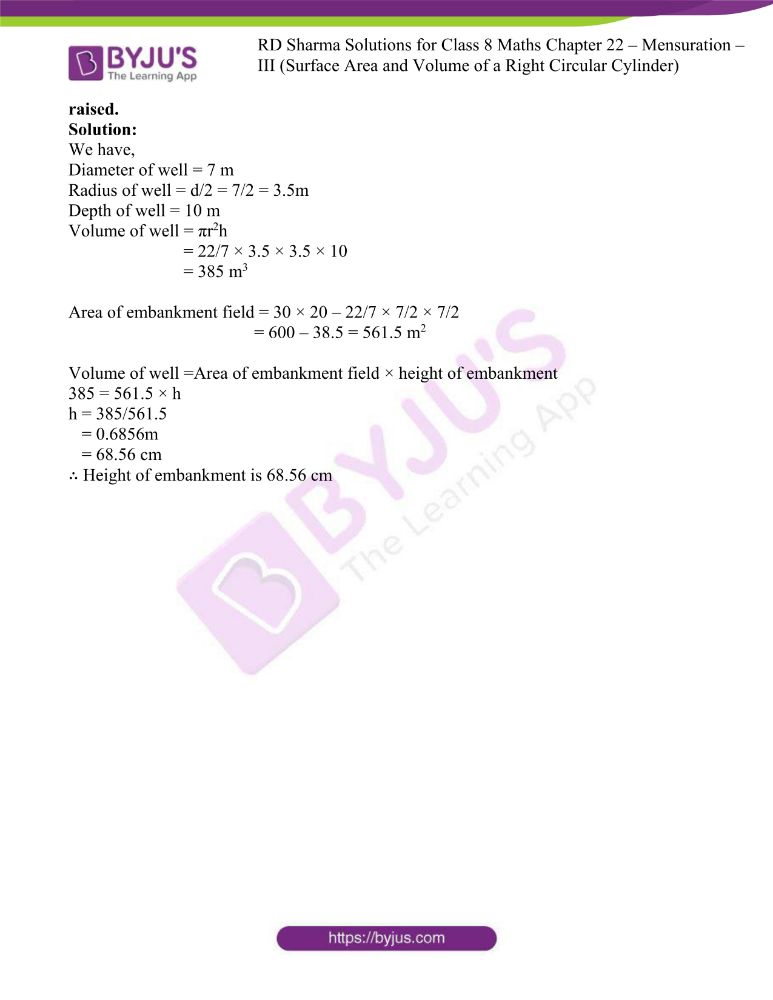 rd sharma class 8 maths chapter 22 ex 2