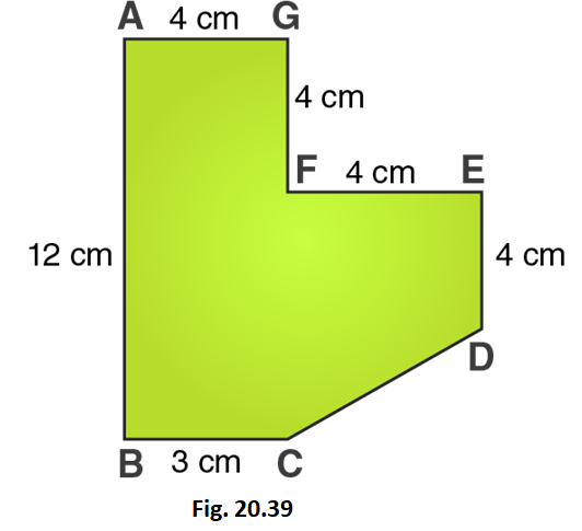 RD Sharma Solutions for Class 8 Maths Chapter 20 – Mensuration – I (Area of a Trapezium and a Polygon) image - 16