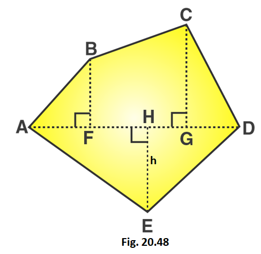 RD Sharma Solutions for Class 8 Maths Chapter 20 – Mensuration – I (Area of a Trapezium and a Polygon) image - 18