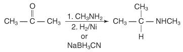 Reductive Amination of Ketones