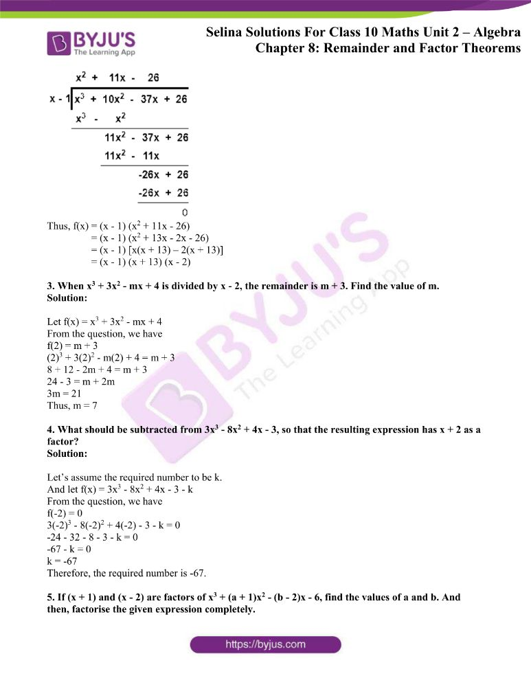 selina solutions concise maths class 10 chapter 8c