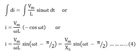 AC Circuit Containing Inductance Problem