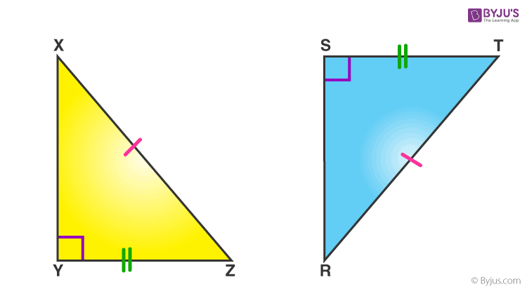 RHS-Congruence Of Triangles