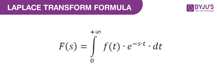 Laplace Transform Formula