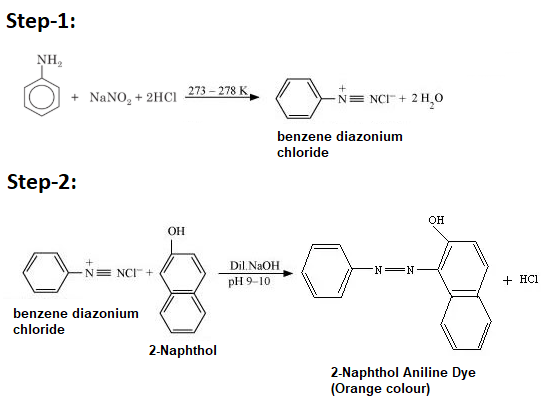 Preparation of 2-Naphthol Aniline Dye