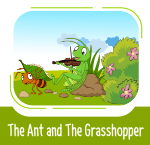 the ant and the grasshopper story - Bedtime Story
