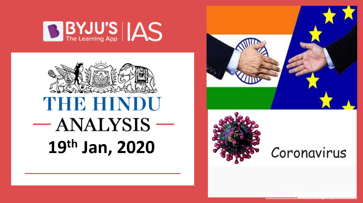 19 January 2020: The Hindu Analysis