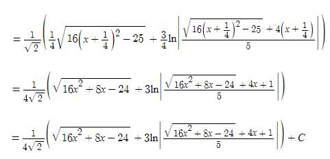 Algebraic Integrals Example for IIT JEE