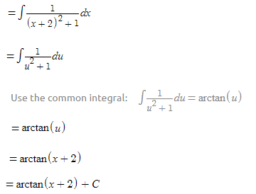 Example on Algebraic Integrals