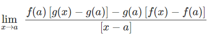 Examples on Limits