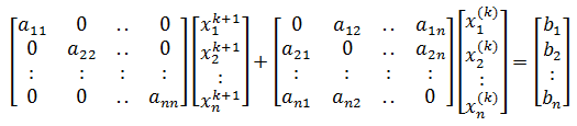 Jacobian Method Formula 2