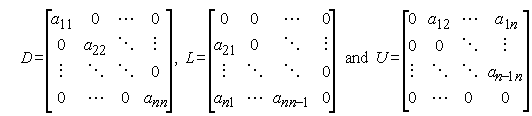 Jacobian Method Formula 3