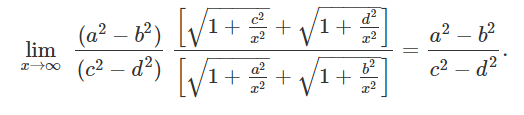 Limit Problems Solution