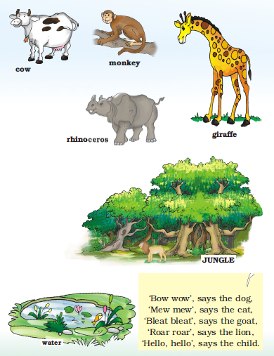 NCERT Solutions Class 1 English Unit 1 Story Three Little Pigs - 4