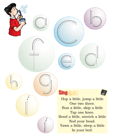 NCERT Solutions Class 1 English Unit 2 Story The Bubble, the Straw and the Shoe - 3