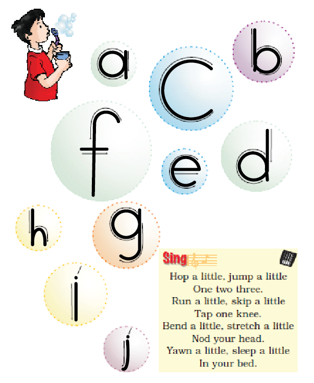 NCERT Solutions Class 1 English Unit 2 Story The Bubble, the Straw and the Shoe - 4