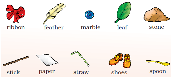 NCERT Solutions Class 1 English Unit 2 Story The Bubble, the Straw and the Shoe - 7