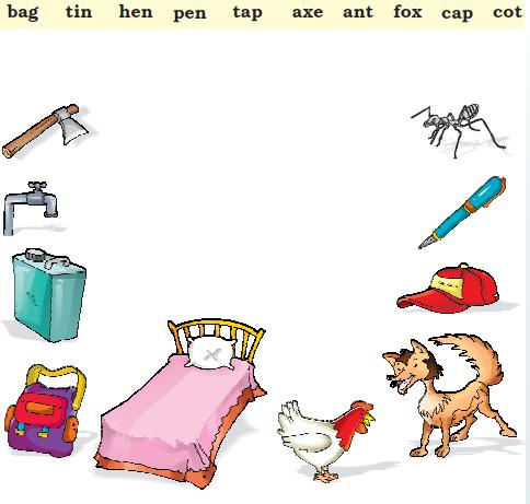 NCERT Solutions Class 1 English Unit 3 Poem One Little Kitten - 5